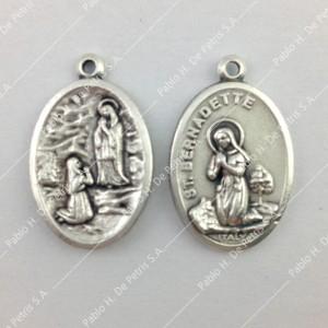 Medalla Virgen de Lourdes - Bernardita