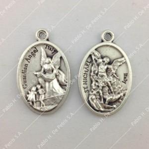 Medalla Ángel de la Guarda - San Miguel Arcángel