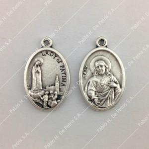 Medalla Virgen de Fátima - Jesus