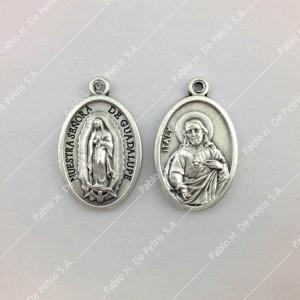 3694 Medalla Virgen de Guadalupe - Sgdo. Corazón