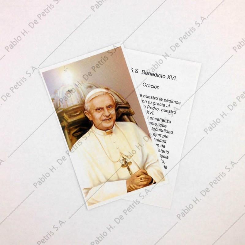 Estampa Benedicto XVI