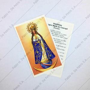 Estampa Virgen de Caacupé