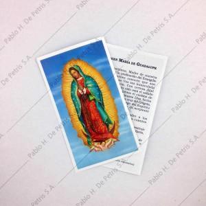 Estampa Virgen de Guadalupe