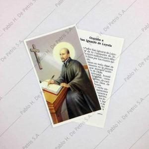 Estampa San Ignacio de Loyola
