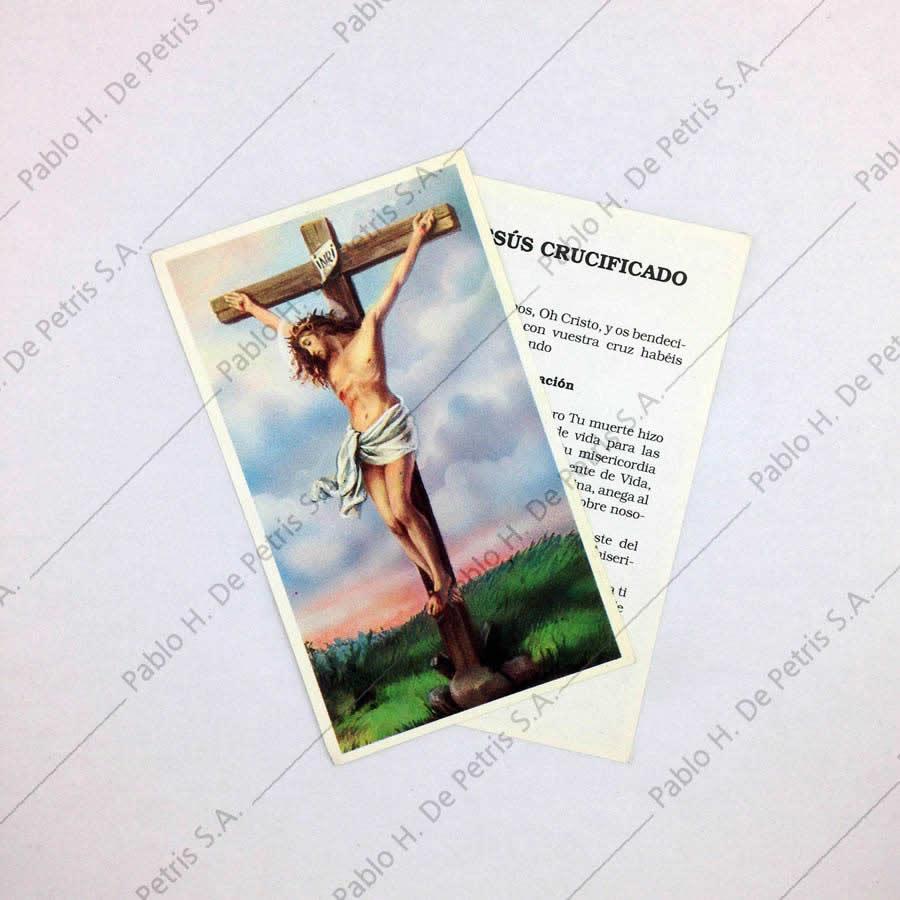 Estampa Jesús crucificado