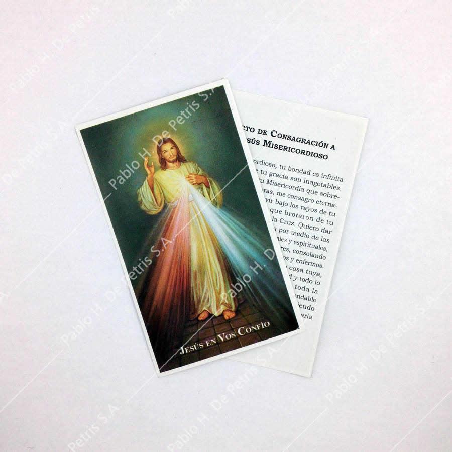 Estampa Jesús Misericordioso