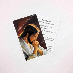 Estampa Jesús Orante