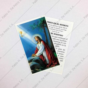 Estampa Jesús en el Huerto