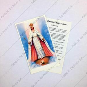Estampa María Reina Inmaculada