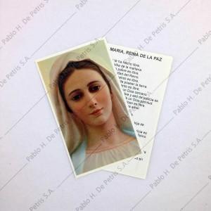 Estampa María Reina de la Paz