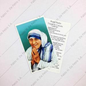 Estampa Beata Madre Teresa de Calcuta