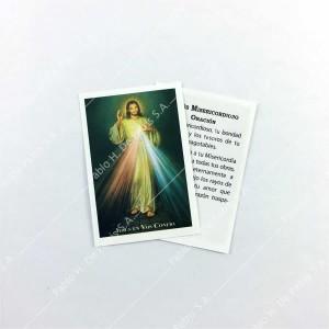 0804 - 1/2 Estampa Jesús Misericordioso
