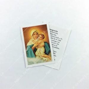 0804 - 1/2 Estampa Virgen de Schoenstatt - Mater