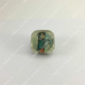 8250-Virgen del Rosario de San Nicolás - Adorno