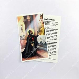 Estampa San Camilo de Lelis