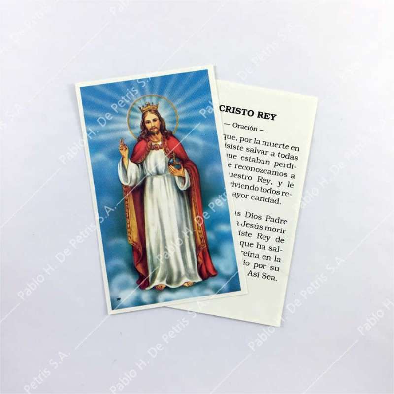 Estampa Cristo Rey