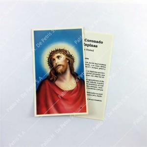 Estampa Jesús coronado de espinas