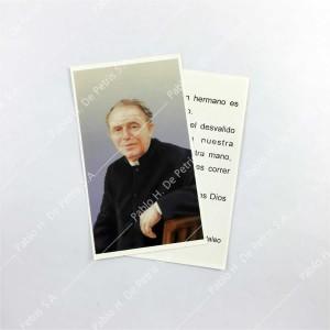 Estampa Padre Mario Pantaleo