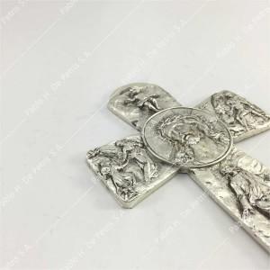 SC 502-Jesús coronado de espinas - Cruz de pared