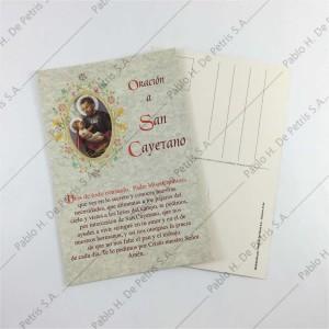 0843 Oro-San Cayetano - Estampa