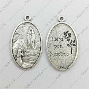 3688- Medalla Virgen de Lourdes