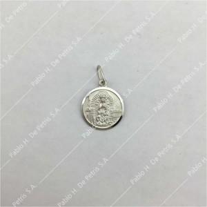 0432-Virgen de Guadalupe - Medalla de Plata