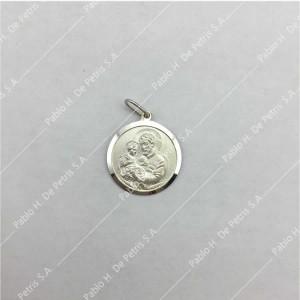 0433-San Cayetano - Medalla de Plata