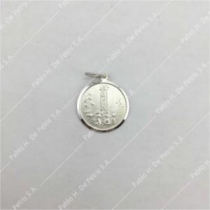 0433-Virgen de Fátima - Medalla de Plata