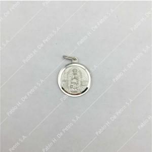 0433-Virgen de Guadalupe - Medalla de Plata