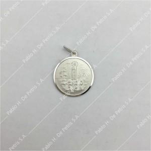 0434-Virgen de Fátima - Medalla de Plata