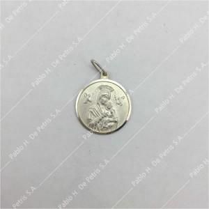 0434-Virgen del Perpetuo Socorro - Medalla de Plata