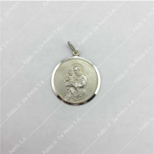 0437-San Cayetano - Medalla de Plata