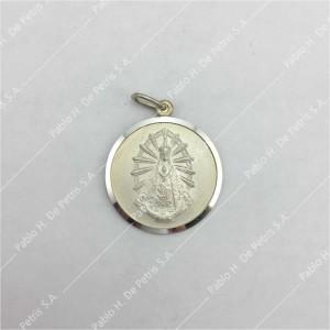 0438-Virgen de Luján - Medalla de Plata