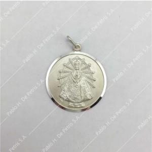 0439-Virgen de Luján - Medalla de Plata