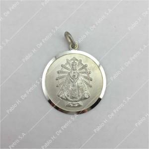 0440-Virgen de Luján - Medalla de Plata